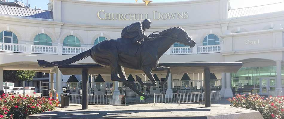 Churchill Downs is a great place to go visit in Louisville, KY during the GIE+Expo.