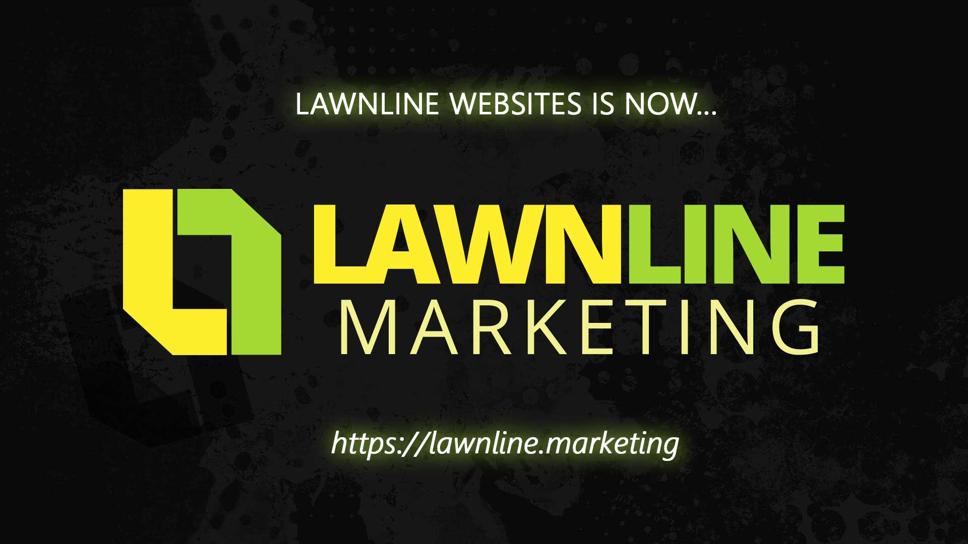 Press Release: Lawnline Website changes to Lawnline Marketing